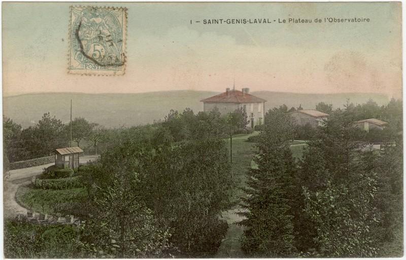 Parc de l'observatoire en 1906